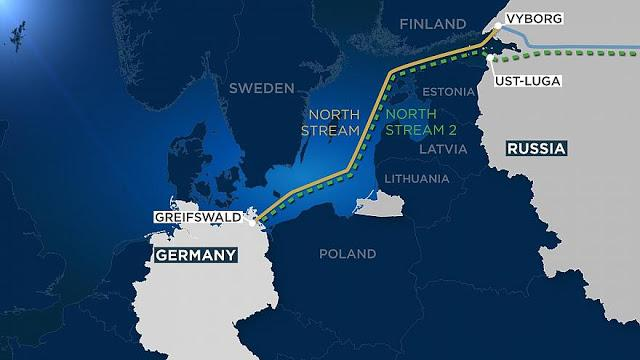 Ψήφισμα Στο Ευρωπαϊκό Κοινοβούλιο Για Τον Τερματισμό Του «Nord Stream 2»