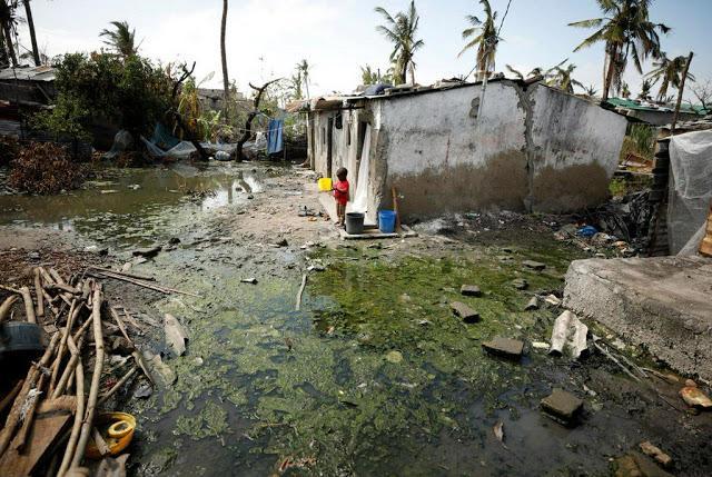 Μοζαμβίκη: Επιδημία Χολέρας Και Ελονοσίας Μετά Τον Ισχυρό Κυκλώνα -2.700 Πολίτες Με Συμπτώματα