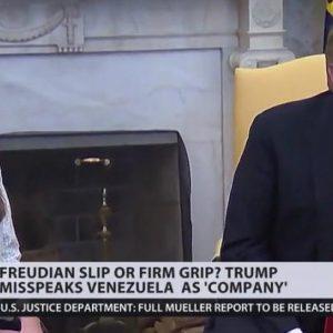 Ο Trump αναφερει την Βενεζουελα ως εταιρια ..!!!