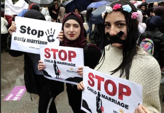 Λίβανος: Εκατοντάδες διαδηλωτές στους δρόμους κατά των γάμων ανηλίκων