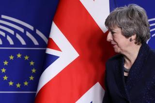 Έκκληση Προς Βουλευτές-ΕΕ Από Τη Μέι Για Να Περάσει Η Συμφωνία Του Brexit
