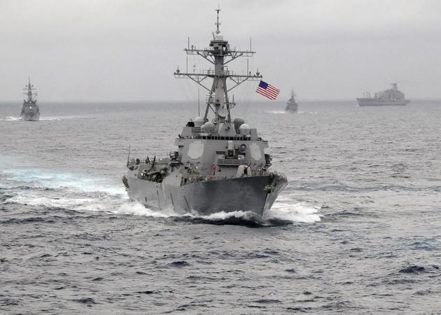 Πληροφορίες για παρουσία πολεμικού πλοίου των ΗΠΑ με 10 F-35B στη Νότια Σινική Θάλασσα