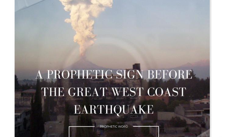 Τα προφητικά σημάδια πριν τον μεγάλο σεισμό στις Δυτικές ακτές των ΗΠΑ.
