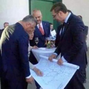 Θάτσι – Βούτσιτς- Ράμα δείχνουν χάρτες στην Μέρκελ. Μοιράζουν τα ΒΑΛΚΑΝΙΑ με βλέμμα στο ΑΙΓΑΙΟ και τα ΣΤΕΝΑ ;