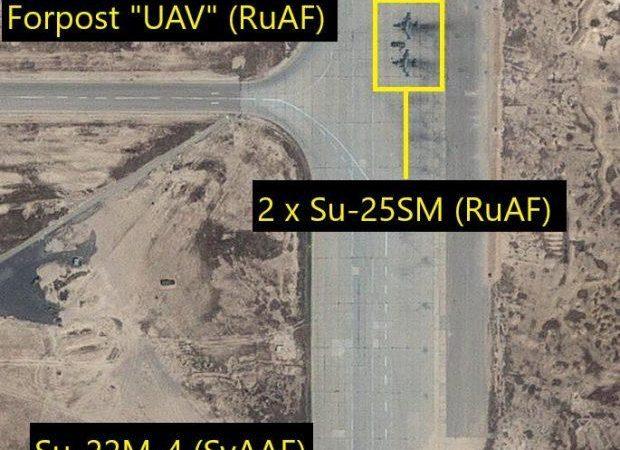 Ρώσικα Su-25SM Frogfoot στην βάση της Palmyra