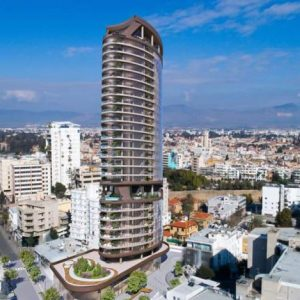 Κτίριο 360: Σχεδόν έτοιμος ο ψηλότερος ουρανοξύστης στην Κύπρο (φωτογραφίες)