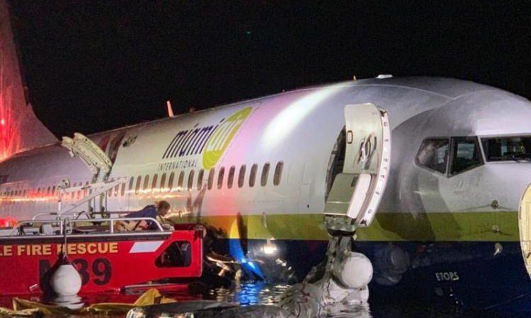 Πτήση τρόμου στις ΗΠΑ: Πώς κατέληξε στον ποταμό το Boeing με τους 143 επιβάτες