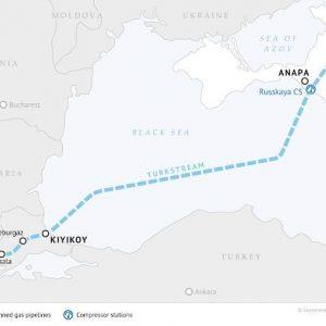Έτοιμος Ο Turkish Stream Στην Μαύρη Θάλασσα