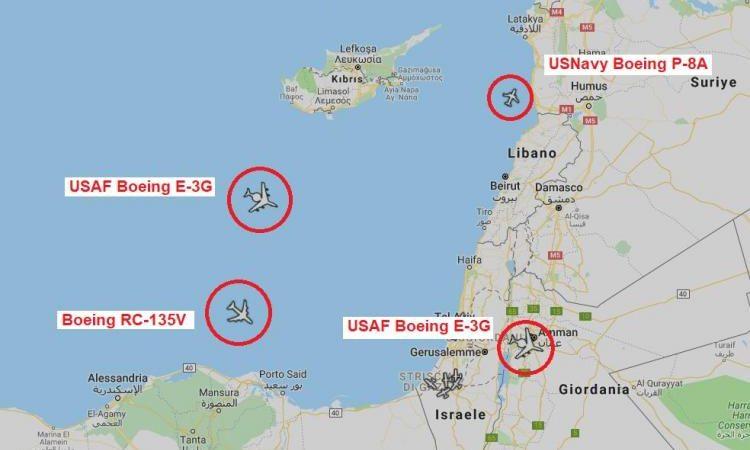«Μπλόκο» στα τουρκικά σχέδια: Κατασκοπευτικά από ΗΠΑ-Ισραήλ στην Α. Μεσόγειο – Συνωστισμός δυνάμεων στην περιοχή