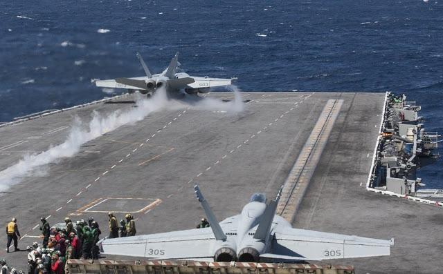 Έτσι Ετοίμαζαν Οι ΗΠΑ Την Επίθεση Στο Ιράν – Σε Ύψιστη Ετοιμότητα Για Κλιμάκωση Οι Δυνάμεις Του USS Abraham Lincoln – Δείτε Το Βίντεο