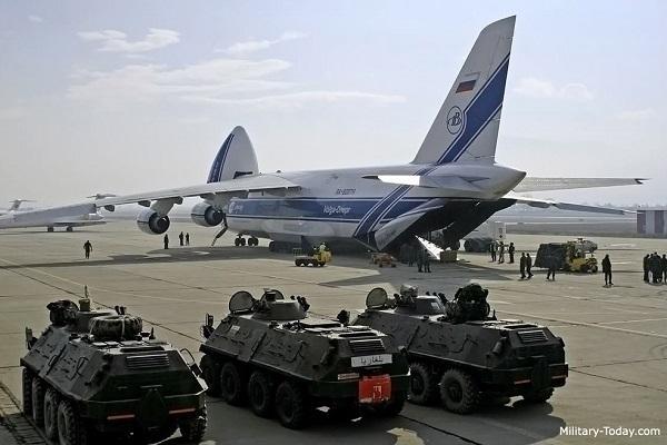 Δυο Γιγάντια Μεταγωγικά Antonov An-124 Προσγειώθηκαν Χθές Στην Συρία-Πληροφορίες Λενε Ότι Μεταφέρουν Βαρύ Ρωσικό Οπλισμό Στον Συριακό Στρατό