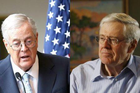 Κόκκινος Ουρανός: Οι Αδελφοί Koch Ενώνονται Με Τον Soros Για Να Πολεμήσουν Τον Διαδικτυακό «Εξτρεμισμό»