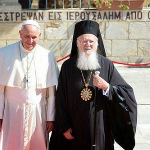 Στον δρόμο για Πανθρησκεία: Ο Βαρθολομαίος στέλνει ξανά αντιπροσωπεία στην Ρώμη