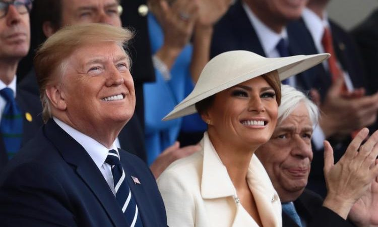 Απόβαση στη Νορμανδία: Ο Παυλόπουλος δίπλα στους Τραμπ και τη βασίλισσα Ελισάβετ