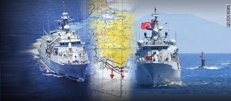 Ηγγικεν Η Ώρα: Η Τουρκία Εξήγγειλε Γεωτρήσεις Εντός Της Ελληνικής Υφαλοκρηπίδας Τον Αύγουστο!