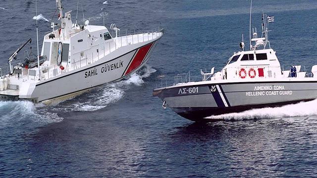 «Θερμό» Επεισόδιο Στο Θρακικό Πέλαγος: Τουρκική Ακταιωρός Προσπάθησε Να Εμβολίσει Σκάφος Του Λιμενικού – Κλιμάκωση Παντού Από Τους Τούρκους