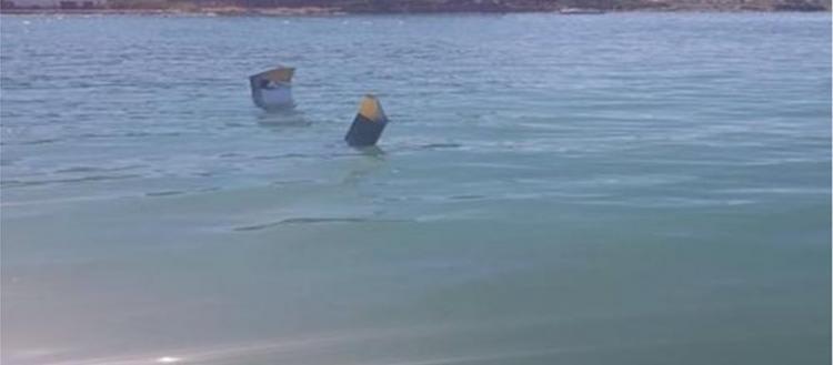 Βίντεο: Δείτε τη στιγμή που το ελικόπτερο χτυπάει πάνω στο καλώδιο της ΔΕΗ και πέφτει στο νερό