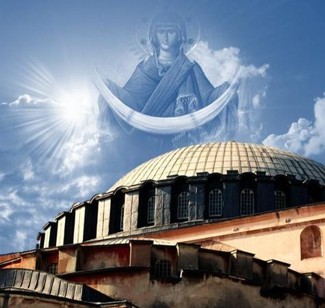 Έπεφταν νωποί σοβάδες από τον Θόλο της ΑΓΙΑΣ ΣΟΦΙΑΣ, ένα σύννεφο σκόνης σηκώθηκε την ώρα του σεισμού και οι φύλακες έδειχναν στον τρούλο φωνάζοντας « ο ΑΦΕΝΤΗΣ ο ΑΦΕΝΤΗΣ, ο ΑΦΕΝΤΗΣ»