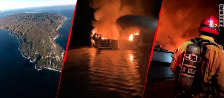 Καλιφόρνια: Φωτιά σε σκάφος! Πάνω από 34 άτομα κάηκαν ζωντανοί