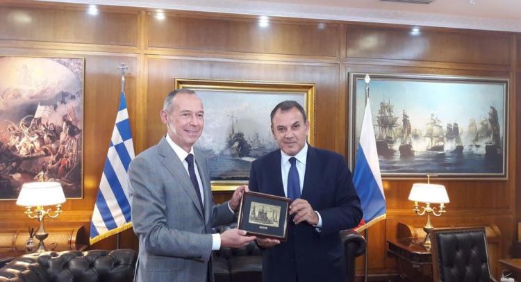 Χαιρετίζουμε τησυνάντηση ΥΠΕΘΑ με το Ρώσο Πρέσβη ΑντρέιΜ. Μασλώφ . Τέλος εποχής για Αμερικανό πρέσβη Τζέφρι Πάιατ