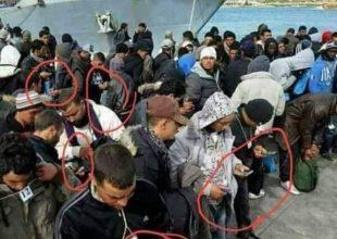 Έχασαν όλα τους τα έγγραφα , ταυτότητες, διαβατήρια, αλλά κανένας τους δεν έχασε το κινητό του!!!