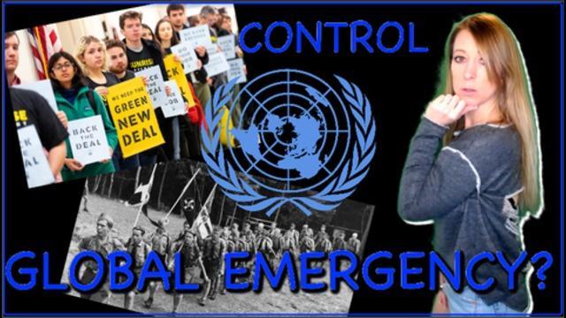 Lisa Haven : Παγκόσμια έκτακτη κατάσταση που δηλώνεται: Τερματισμός ή σιωπή! Η εισβολή των Ηνωμένων Εθνών, η Mobilized Youth και η Αμερική που συμμορφώνεται.