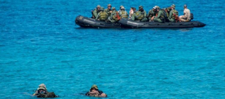 Λέρος: Από την θάλασσα έγινε η «έξοδος» του οπλισμού – Το συμβάν με τους Γερμανούς «κολυμβητές» – Τί λένε οι Αρχές