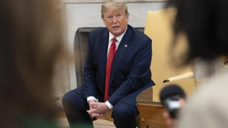 """ΙΓΝΑΤΙΟΥ : Θύελλα για τον Τραμπ στην Ουάσιγκτον: Σε ποιον ξένο ηγέτη έδωσε την βλαβερή """"υπόσχεση"""";"""