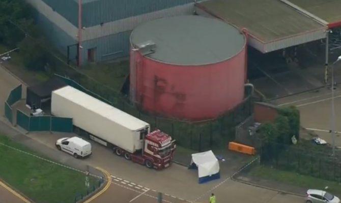 Πάγωσαν μέχρι θανάτου οι 39 άνθρωποι που βρέθηκαν στο φορτηγό στο Έσεξ