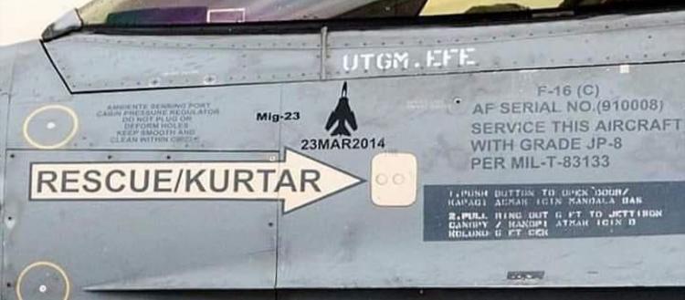 """Γιατί η τουρκική Αεροπορία έδωσε στην δημοσιότητα φωτογραφίες μαχητικών της με """"kill mark's"""";"""