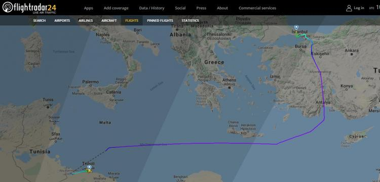 ΤΖΙΧΑΝΤΙΣΤΕΣ στην Λιβύη με τουρκικά αεροπλάνα από την ΠΟΛΗ. Άραγε στον Έβρο με τα πόδια;