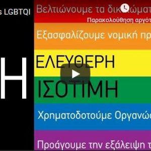 Μὲ διαφημιστικὸ βίντεο ἡ Εὐρωπαϊκὴ Ἐπιτροπὴ προωθεῖ τὴν ὁμοφυλοφιλία!