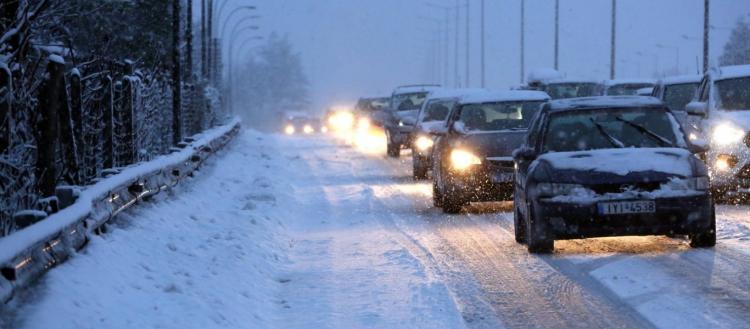 Επιμένει και σήμερα η «Ζηνοβία» – Χιόνια και πολικές θερμοκρασίες για άλλη μια ημέρα