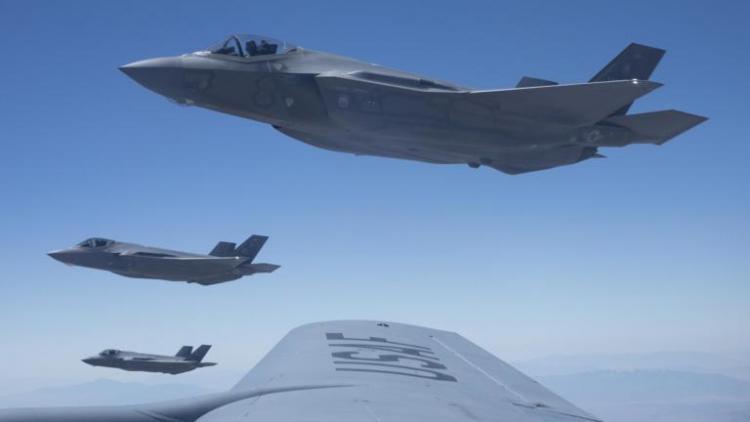 Τα F-35 βρήκαν παρέα στον αέρα! Το όπλο που αλλάζει επίπεδο στα stealth μαχητικά [pics]