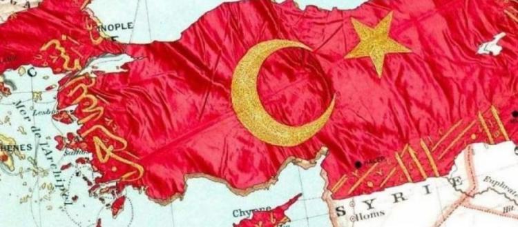 Νέοι τουρκικοί χάρτες διεκδικούν μέχρι την Θεσσαλονίκη: «Ήμασταν ξυπόλυτοι, τώρα με τεθωρακισμένα» (φωτό)