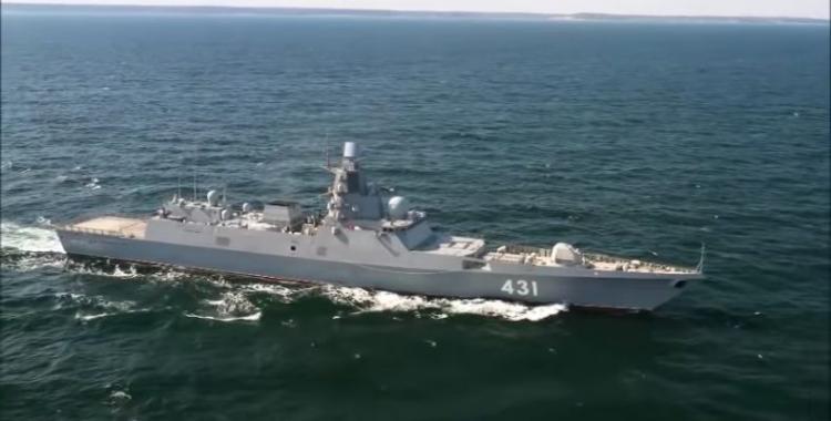 Η Ρωσία στέλνει δύο πολεμικά με πυραύλους κρουζ στις συριακές ακτές