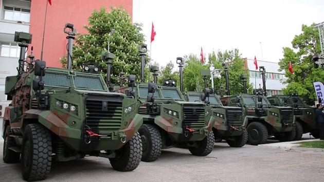Το Τουρκικό όχημα «ATES» που επιχείρησε να κατεβάσει τον Φράκτη … Ήταν εντός του Ελληνικού εδάφους.