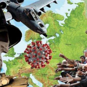 Υπό τη σκιά του Κορονοϊού, η Αμερικανική πολεμική Μηχανή μετακινείται στην Ευρώπη χωρίς τα φώτα της δημοσιότητας./ Εκνευρισμός στην Μόσχα από την ανάπτυξη Β-2 στην Ευρώπη.