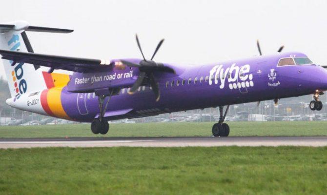 Κατέρρευσε η βρετανική εταιρεία Flybe