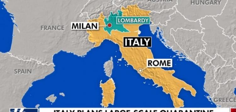 Πετυχημένη πρόβα χούντας στη «γειτονιά» μας: Σε καραντίνα εκατομμύρια Ιταλοί και με τον νόμο! (ΒΙΝΤΕΟ)
