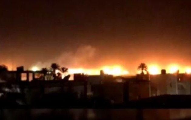 Ο LNA του Χαφτάρ βομβάρδισε τους Τούρκους στο αεροδρόμιο της Τρίπολης.