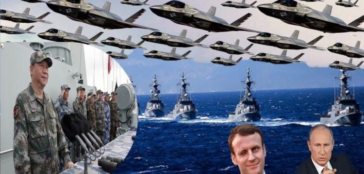 Αμερικανικός πανικός : Η Κίνα είναι έτοιμη για πόλεμο, η Γαλλία και η Ρωσία στέλνουν αεροπλανοφόρα.