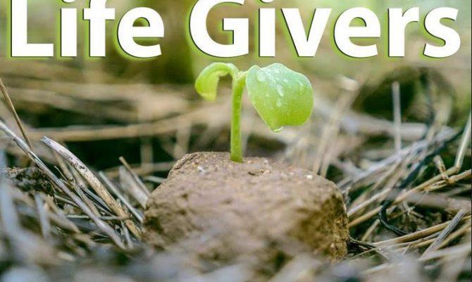 Σημερα 25/04/2020 ξεκινησε η Παγκοσμια Πανσπερμια , Life Givers