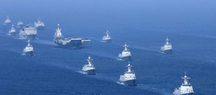 'Έντονη' δραστηριότητα της Κίνας στις εγγύς θαλάσσιες περιοχές
