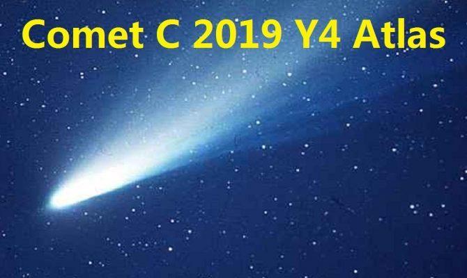 Μετά από 4.400 χρόνια ο Αρχαίος κομήτης Άτλας ξαναπερνά κοντά από τη Γη.Την προηγούμενη φορά ήταν υπεύθυνος για τον κατακλυσμό του Νώε;