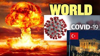 Οι ηγέτες της ΓΗΣ δήλωσαν πως υπάρχει πόλεμος κατά ενός αόρατου εχθρού που σήμερα είναι ..ο ιός .. ο επόμενος θα είναι οι εξωγήινοι;