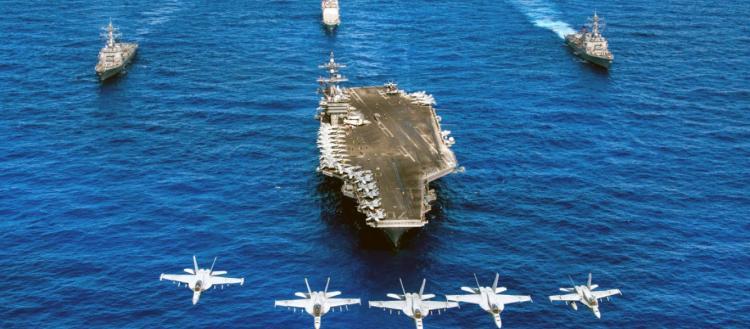 ΕΚΤΑΚΤΟ: Πολεμικά πλοία των Ηνωμένων Πολιτειών κινήθηκαν προς απάντηση κινεζικών επιθετικών κινήσεων