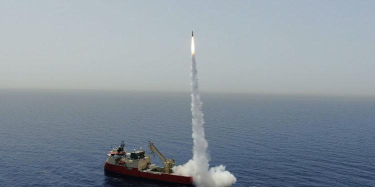 Καζάνι που βράζει με πολλούς παίχτες η Μεσόγειος: Επιτυχημένη εκτόξευση πυραύλου από το Ισραήλ (vid).