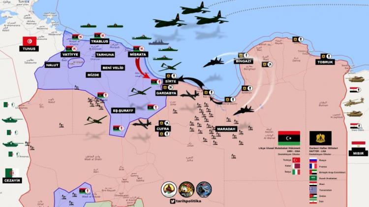 Η Τουρκία δεν συνθηκολογεί θέλει πόλεμο η κατάσταση φθάνει στ΄άκρα.Ο LNA επιτίθεται στη Μισράτα για επιβράδυνση στην επιχείρηση Σύρτη του GNA. Συνεχείς ενισχύσεις τουρκικών δυνάμεων κατοχής προς Λιβύη…