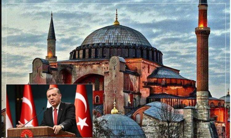 """Η μετατροπή της Αγίας Σοφίας σε τζαμί είναι μέρος της """"Συμφωνίας του Αιώνα"""". Πυλώνας της Συμφωνίας είναι:διάλυση-διάσπαση- έλεγχος της Ορθόδοξης Εκκλησίας και Μετατόπιση του Ορθόδοξου Κέντρου στις ΗΠΑ.Το ανιστόρητο Δόγμα: Νέα Ρώμη,η Νέα Υόρκη κ.α"""
